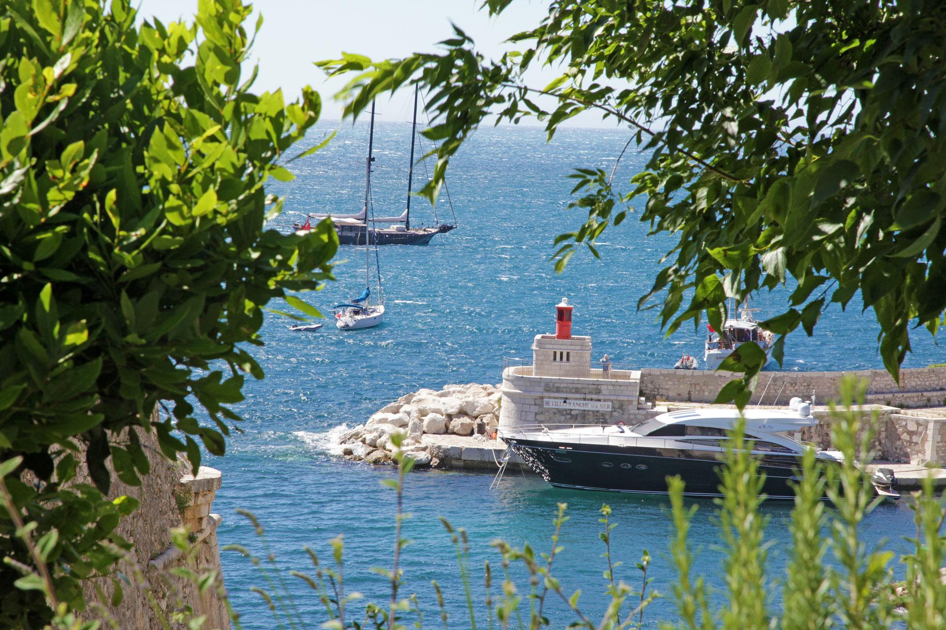 Phototh que office de tourisme de villefranche sur mer - Port de la darse villefranche sur mer ...