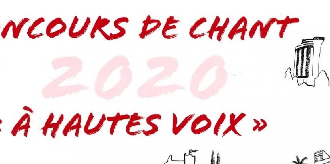 Concours de chant 2020 : «A hautes voix»