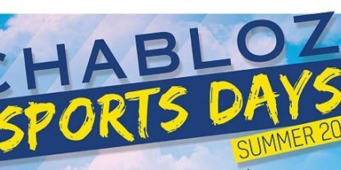 CHABLOZ' Sports Days Summer