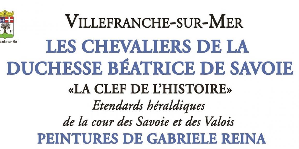 """Exposition – Les chevaliers de la Duchesse Béatrice de Savoie """"La Clef de l'histoire"""" & Peintures de Gabriele Reina"""