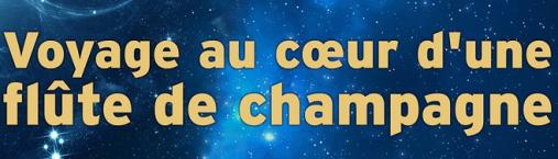 Conférence – Voyage au cœur d'une flûte de champagne