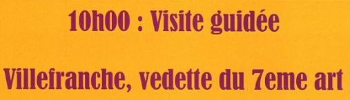 visite guidée – 18 février – Villefranche vedette du 7eme art