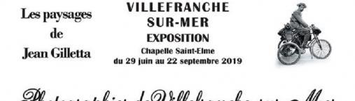exposition de l'été : les paysages de Jean Gilletta.
