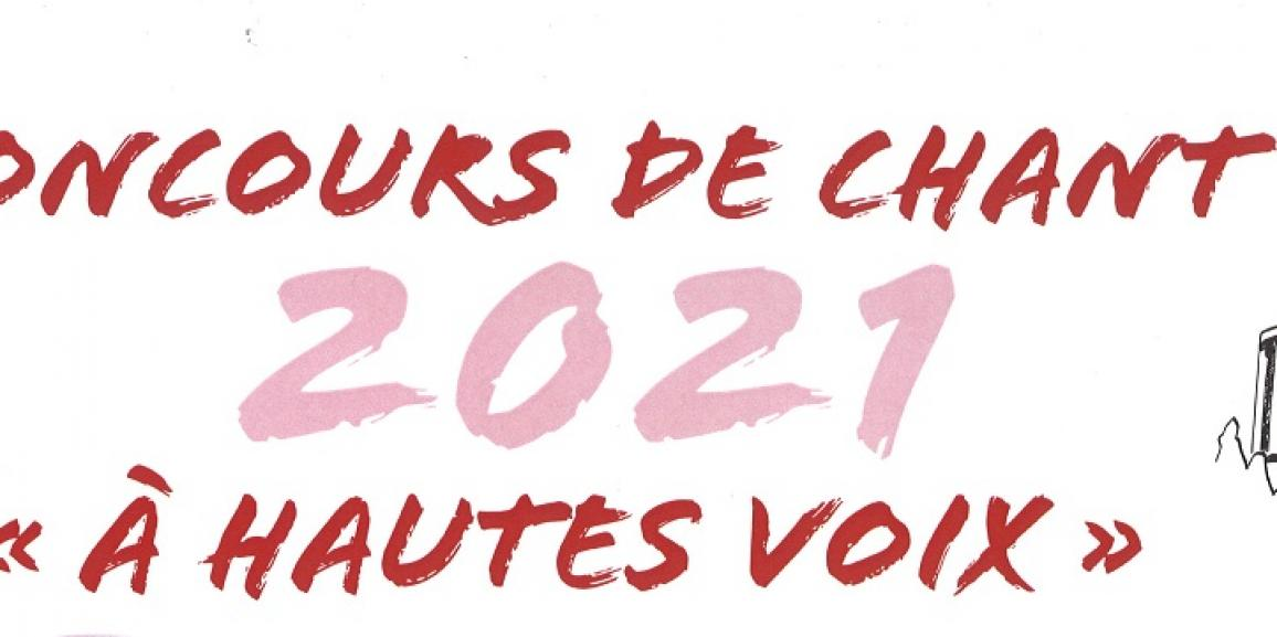 Concours de chant 2021 «A hautes voix»