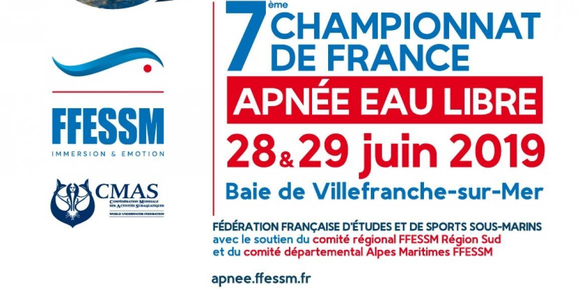 7ème Championnat de France d'Apnée en Eau libre