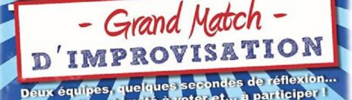 CITADELL'ARTE – « Grand Match D'IMPROVISATION »